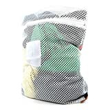 PROFESSIONAL MESH NET LAUNDRY WASHING BAG - Separate and care for garments in the washing machine.