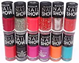 V-Color Nail Show Polish Set of 12 Pcs. ...