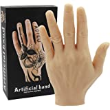 Tattoo Oefenhand - Rayyl Zachte Siliconen Hand Tattoo Oefen Nep Hand Flexibele Siliconen Handen Nep voor Tattoo Beginners Tat