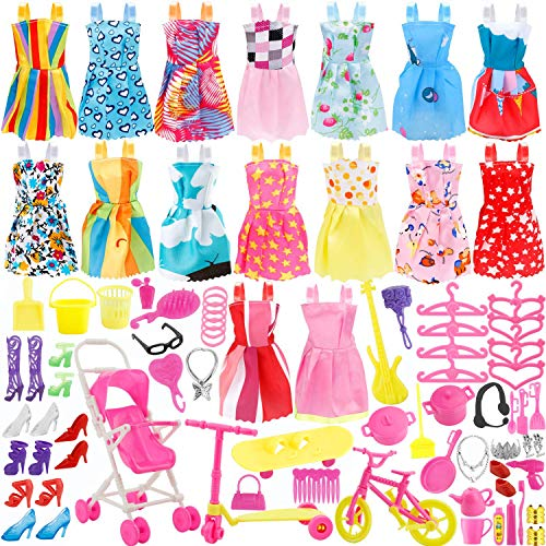 Total 114pcs - 16 Pack Clothes P...