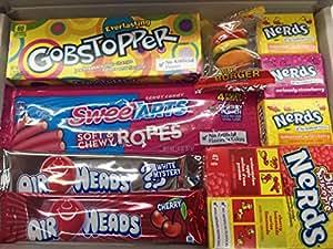 USA importés Bonbons Bonbons Coffret Cadeau Wonka Gobstoppers Kazoozles Nerds