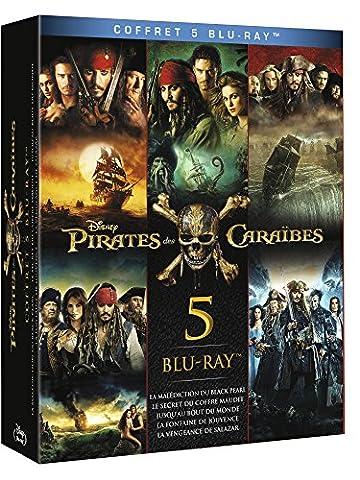 Pirates des Caraïbes - Coffret 5 films [Blu-ray]