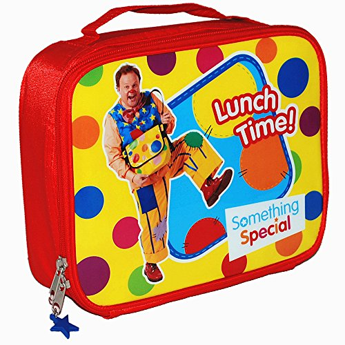 Image of Something Special® Hello Mr Tumble Spotty Lunch Bag and Metal Water Bottle Set - BBC CBeebies TV Show Official Merchandise