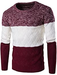 Zicac Pull Manches Longues Col Rond Homme