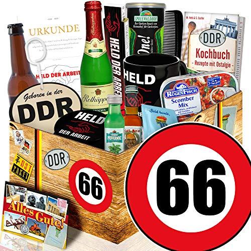 Männer Paket DDR | Zahl 66 | Geschenkideen für Opa | Männerset DDR