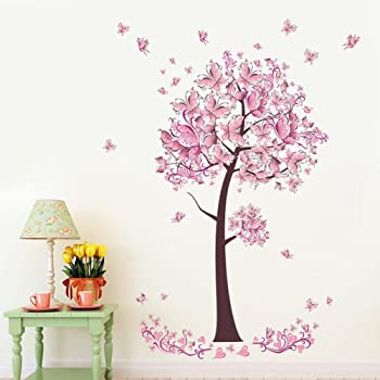 80 pcs Mini Hearts Kids Wall Stickers Nursery Decor Decal Art Mural Removable AU