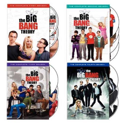 Preisvergleich Produktbild Big Bang Theory: Seasons 1-4 [DVD] [Import]