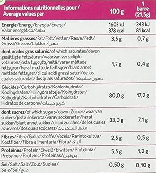 Céliane Barres Céréales Pomme sans Gluten Bio 129 g