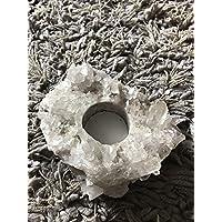 Quarz-Cluster Teelichthalter Kristall Edelstein Heilung New Age Therapie preisvergleich bei billige-tabletten.eu