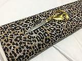 Jersey Viscose Stretch Tier/Leopard Print Kleid/Craft Stoff