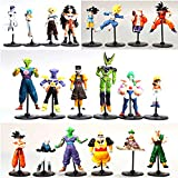 ONOGAL Dragon Ball Dragon Ball Z collezione 20 cifre personaggi diversi PVC 4312