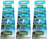 15 x 23A 12V ( 3 Blistercards a 5 Batterien ) Quecksilberfreie Alkaline Batterien MN21, 23A, V23GA, L1028, A23 Markenware Eunicell FBA