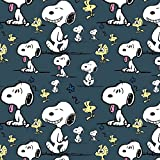 Snoopy Peanuts Woodstock Blau Navy Dunkelblau Indigo -