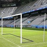 Hochklappbarer Bodenrahmen mit PlayersProtect für Jugend-Fußballtore 1,00 m