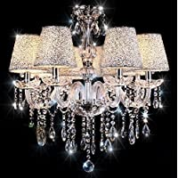 Amazon crystal chandeliers ceiling lighting lighting chandeliertopmax 6 light crystal ceiling lamp aloadofball Gallery