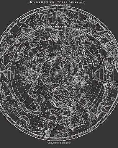 Hemispharivm Coeli Avstrale: Vintage Constellation Star Map Illustration Cover, 8