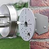 Eckanbinder zur Montage von Außenleuchten Hausecke Leuchtenhalterung Außenleuchten Aufnahme Adapter Wand Außen lampe