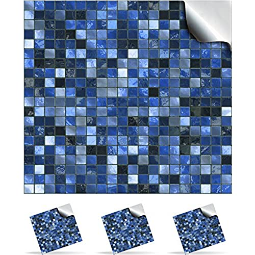 24 Midnight Blue   Printed In 2d Kitchen / Bathroom Tile STICKERS For 150mm  (TP3   6 Inch) Square Tiles   Directly From: TILE STYLE DECALS, No  Middleman ...
