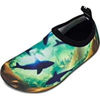 WateLves Chaussures de Bain pour Enfants Chaussures de Plage Chaussures de Natation antidérapantes Chaussures de Surf…