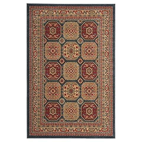Nourison Teppich Mondrian 99446281500–Midnight maschinell gewebt Teppich, Midnight, 3ft 9Zoll x 5ft 9Zoll