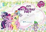 """10x Geburtstagsparty-Einladungskarten """"My Little Pony""""  mit 10kostenlosen Umschlägen"""