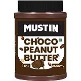 Mustin Chocolate Peanut Butter Jar, 1000 g