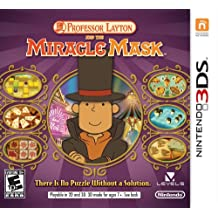 Nintendo Professor Layton and the Miracle Mask, 3DS - Juego (3DS)