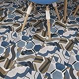 JY ART Wand-Aufkleber Küche Deko Badezimmer-Gestaltung - Küchen-Fliesen überkleben - Dekorative Bad-Gestaltung - Fliesen-Aufkleber 20cmx5m HB008, 20cm*5m