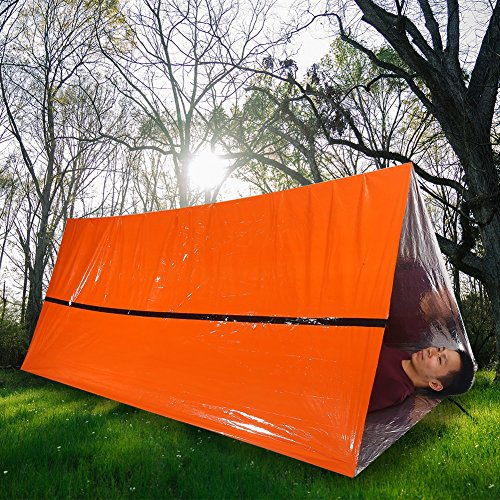 61GWsL%2BKZAL. SS500  - VGEBY Emergency Survival Thermal Reflective Tent Rescue Shelter Foldable Survival Tent Ourdoor
