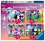 Ravensburger Disney Vampirina 4 in a Box (12, 16, 20, 24pc) Jigsaw Puzzles