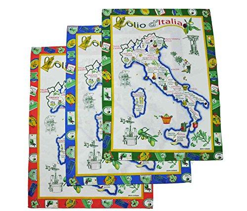 Olio Italia 60 X 80 cm Handtuch set 3 tlg -