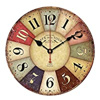 Orologio adesivo e Movimento + lancette per orologi da parete ...