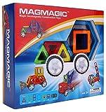 Magmagic Building Block Juguetes magnéticos, 38 piezas Kit de vehículo de la flexibilidad, habilidades preescolares Educativo Juego de construcción de