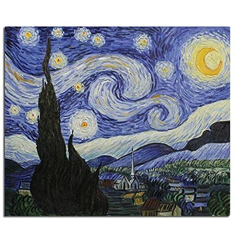 Toile Van Gogh - Fokenzary peinte à la main Peinture à