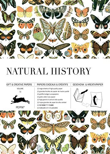 Natural History #72: Gift & Creative Paper Book (Gift & Creative Papers Vol 72)