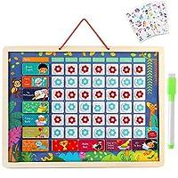 Lewo Kids Calendar Reward Chart Children