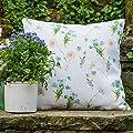 """Designer Wasserdicht Garten Außen Kissen - Wildblumen - """"Lakeland"""" Sammlung - Entworfener Bedruckt & handgefertigt in Großbritannien von Izabela Peters - Gartenmöbel von Du und Dein Garten"""