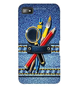 PRINTSWAG DENIM Designer Back Cover Case for BLACKBERRY Z10
