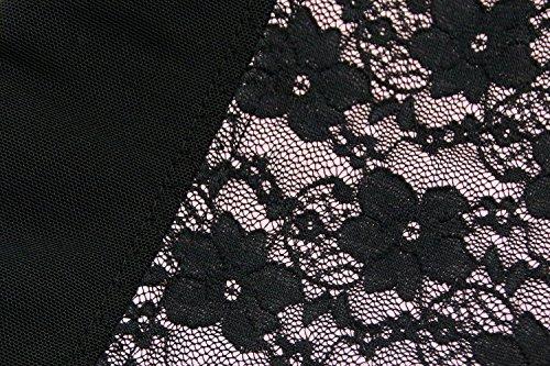 Charmian Women's Latex Underbust Waist Training Steel Boned Shapewear Corset Rosa