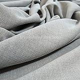Tela de chenilla con apariencia de lino, ideal para tapizar y para...