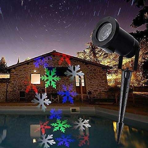 SCT LED dinamica del proiettore di paesaggio della lampada in movimento multi colori del fiocco (Fiore Fontana Parete)
