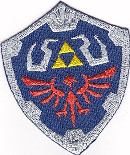 Majora's Kostüm Mask - Master Shield iron-patch Aufnäher Legend of Zelda
