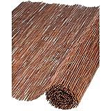 Canisse en osier naturel H1xL5m ep.5mm