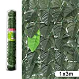 Ldk Garden 82497-Haie Artificielle de Dissimulation pour Jardin, 300x 100x 30cm, Couleur Vert