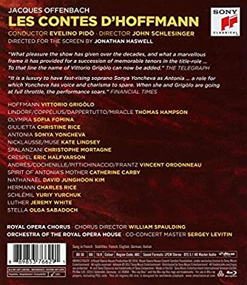 Offenbach : Les contes d'Hoffmann [Blu-ray] [Import italien]