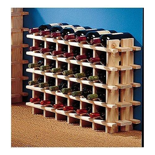 Weinregal Holz 36Stück Modell Rioja