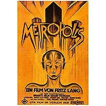 POSTER MANIFESTO ORIGINALE CINEMA - Metropolis - Dimensione 70x100cm