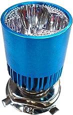 SELLCOM H4 3Led Super White Headlight Bulb for All Bikes