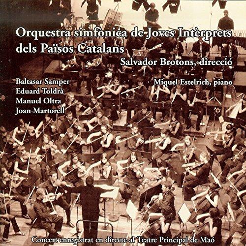Orquestra Simfònica De Joves Intèrprets Dels Països Catalans (Ojipc) 2008