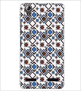 PrintDhaba Pattern D-5238 Back Case Cover for LENOVO A6000 (Multi-Coloured)